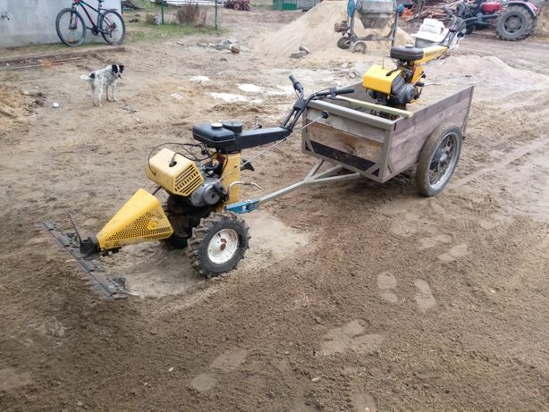 Traktorki jednoosiowe Forschritt e931
