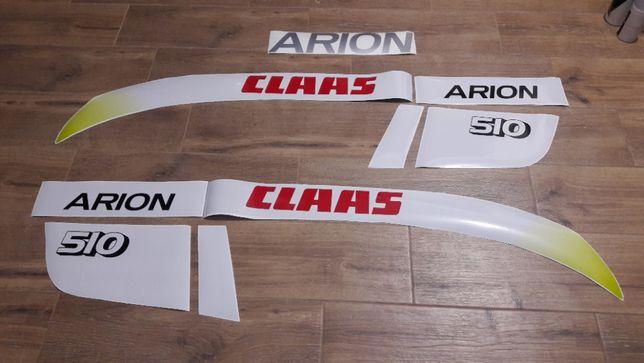 naklejki Claas Arion Nectis wszystkie modele