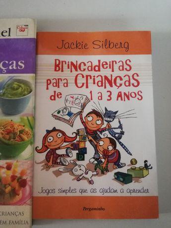 Livros para mães: alimentar e brincar