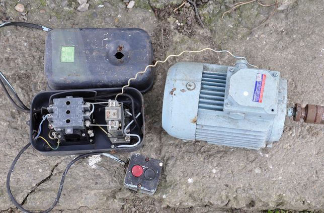 електродвигун асинхронний 2,2 кВт/2850 об