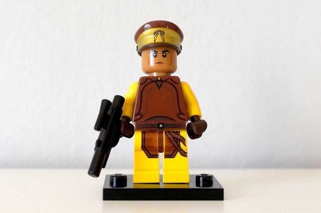 Lego figurka ludzik - Star Wars - Naboo Security Guard
