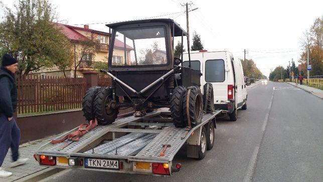 przewóz transport laweta