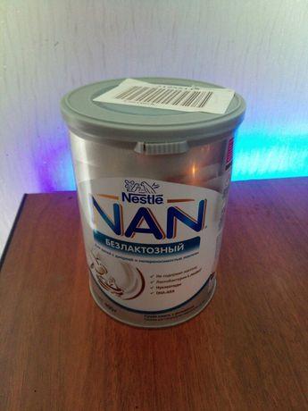 NAN безлактозный 400гр. Запакованный