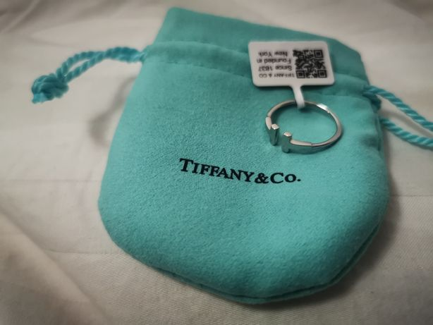 Pierscionek Tiffany & Co srebro 925 bransoletka