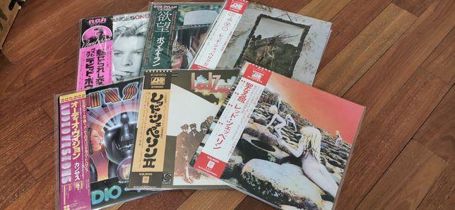 Japońskie płyty winylowe