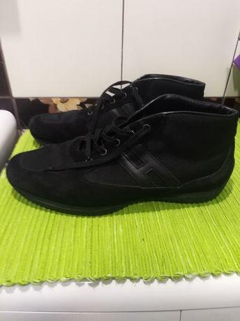 Hogan ботинки замш кожа мужские туфли спортивные