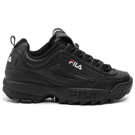Кроссовки мужские Fila Disruptor белые, черные Adidas, nike, puma