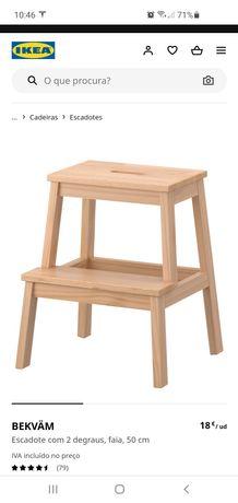 Escada com 2 degraus IKEA