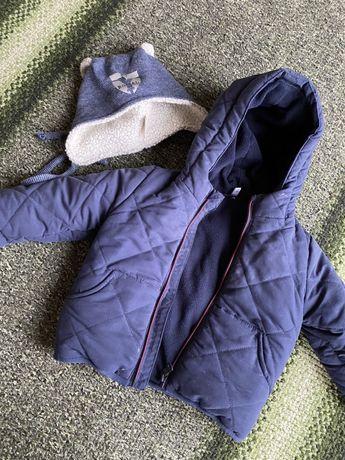 Куртка на флисе! Шапка в подарок