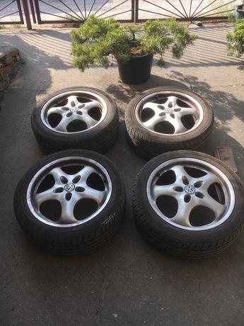 4 felgi z oponami Zeetex 225/45/17 VW Bora i podobne