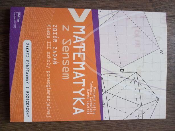 Matematyka z sensem klasa 3 zbiór zadań zakres podstawowy i rozszerzon