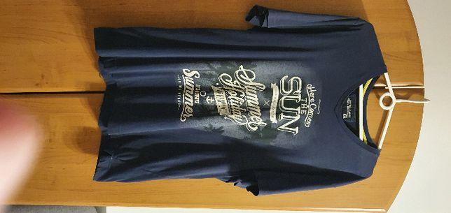 Granatowa koszulka XXL
