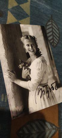 Beata Tyszkiewicz! Zdjęcie z autografem!