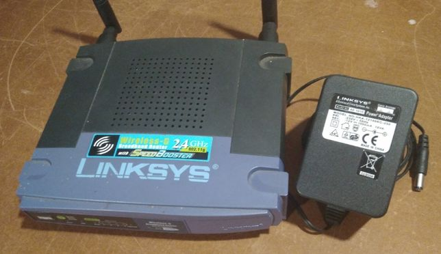 Router Linksys WRT54GS v4