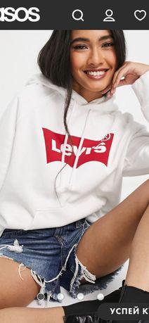 Худі білого кольору Levis