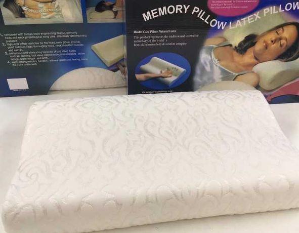 Memory pill Анатомическая подушка - ортопедическая, запоминает форму