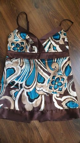 Блузка шелковая женская