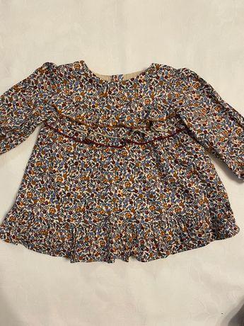 Sukienka wiosenna ZARA rozm. 68