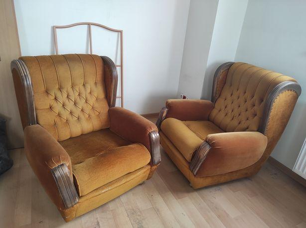 Wygodne fotele 2 szt.