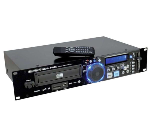 OMNITRONIC XDP 1400 ODTWARZACZ CD/MP3/SD/USB-50%okazja tanio hit !