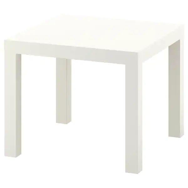 Журнальный столик IKEA 55x55см кофейный прикроватный стол Одесса - изображение 1