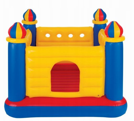Trampolina zamek dmuchany skakania plac zabaw dzieci kojec ring 175cm