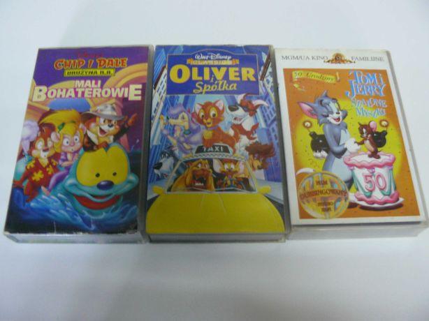 Bajki dla dzieci na kasecie VHS wideo