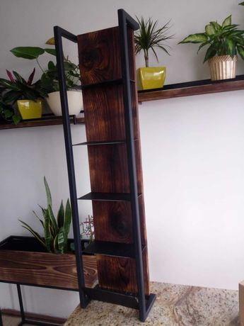 Półka kuchenna regał na przyprawy loft