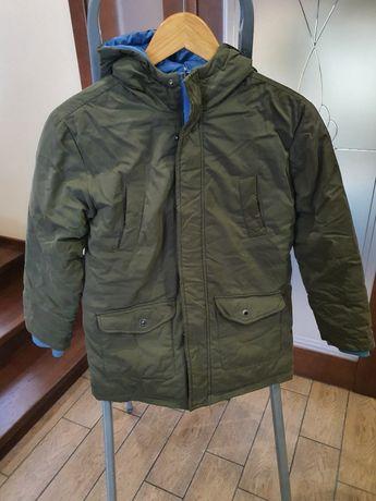 Зимова двостороння куртка для хлопчика