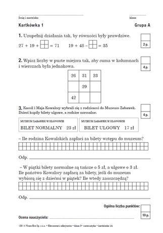 Książka Elementarz Odkrywców klasa 2 klasa 3 kartkówki