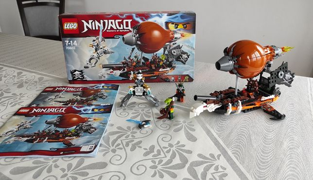 "LEGO 70603 Ninjago - ""Piracki sterowiec"", KOMPLET"