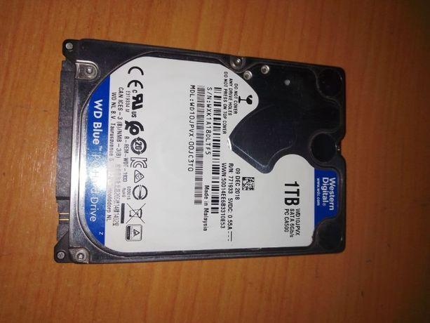 НОВЫЙ! Продам жесткий диск для ноутбука 1TB, WD