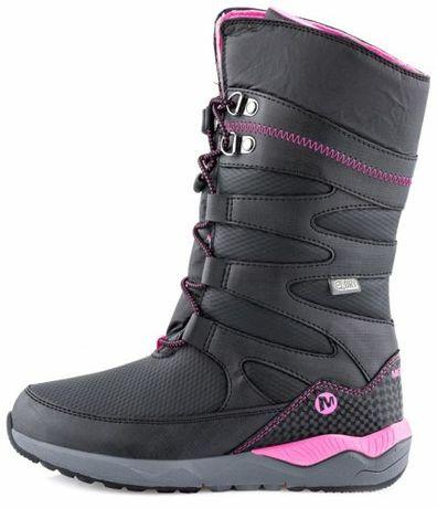 Зимние сапоги Merrell, термо ботинки зимне, как ECCO, Geox, р.29-31
