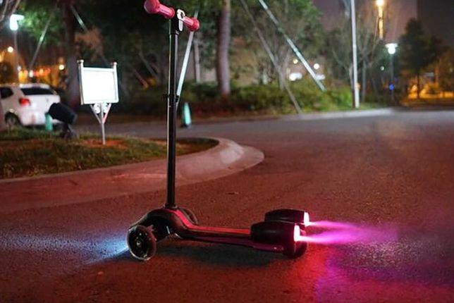 Самокат Best Scooter Maxi с турбинами