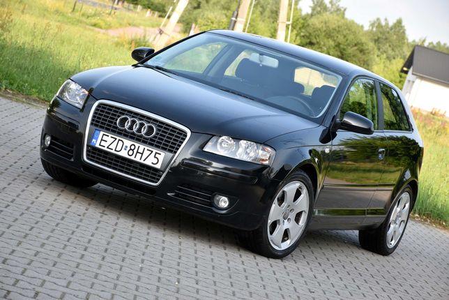 Audi A3 8P 1.6MPI 8V 102KM Benzynka, Manual, ZAREJESTROWANE! ZOBACZ!