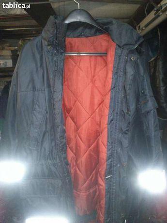 kurtka zimowa z odblaskami
