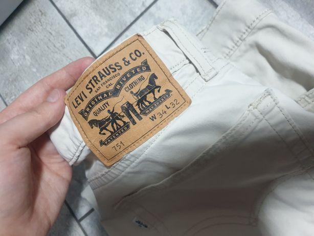 Spodnie Levis piaskowe Dickens