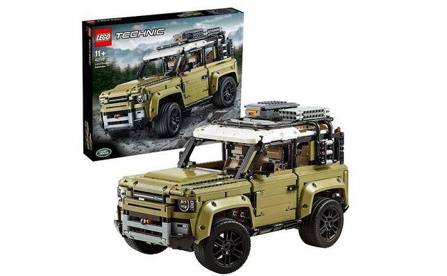 NOWE Lego Technic 42110 Land Rover Defender Model