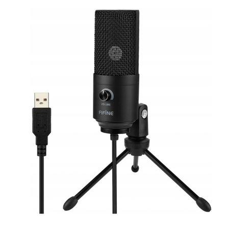 Mikrofon FIFINE K669B USB (studyjny dla graczy PC) Zafoliowany Nowy