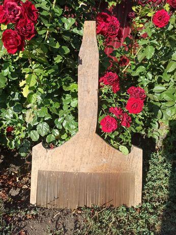 Старинная чесалка(расческа) для пряжи