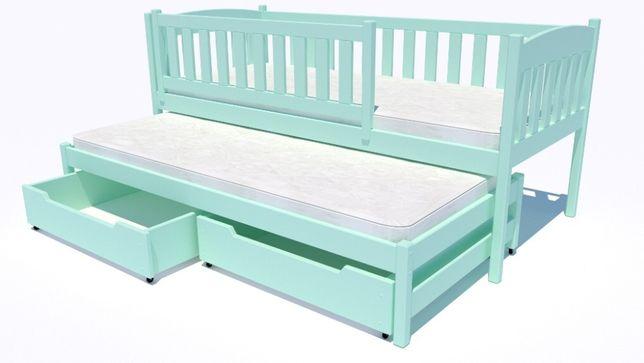 Podwójne łóżeczko dziecięce Hania Premium - dostawa w 7 dni