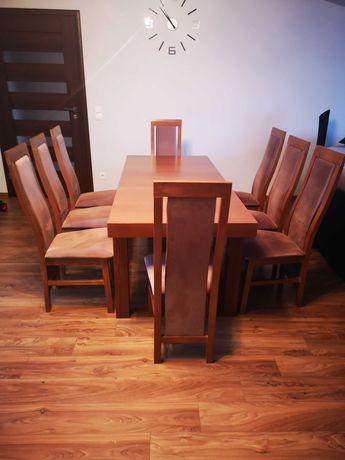 Stół do jadalni z krzesłami 8szt