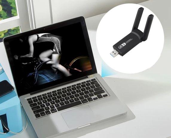 Ultraszybki WiFi adapter USB  3.0  1200 mb/s  dwuzakresowy 2.4 / 5 Ghz