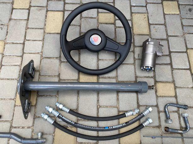 Переоборудование под насос дозатор Т150 Т40 Т25 МТЗ-80/82 ЮМЗ рулевое