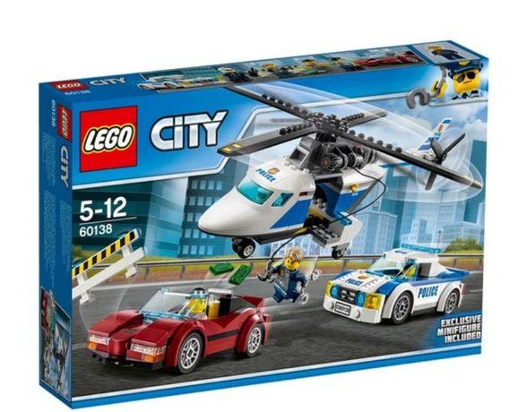 Лего Сити Стремительная погоня 60138 оригинал