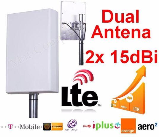ANTENA DUAL LTE +30dB router B593 DWR921 923 MF28D