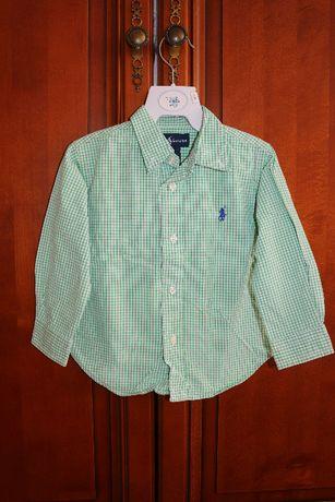 Рубашка Ralph Lauren длиный рукав размер 80-86см