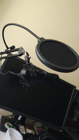 Pop filter para microfone
