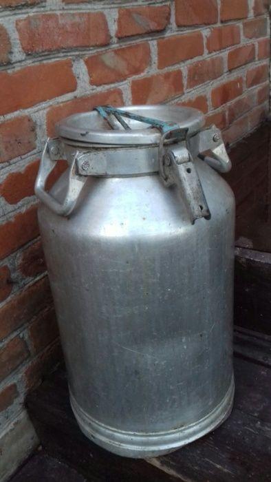 алюминиевый молочный бидон Бердянск - изображение 1