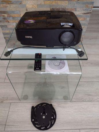 Projektor BenQ TW 523 + uchwyt sufitowy + ekran